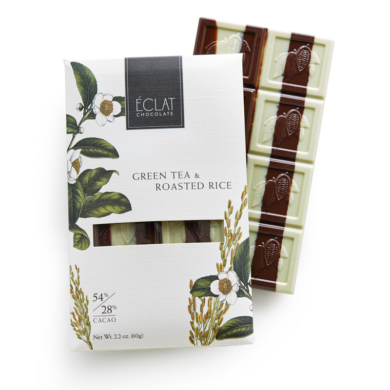 Éclat Chocolate Green Tea & Roasted Rice Parallel Bar