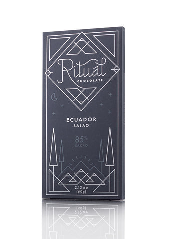 Ritual Chocolate 85% Equador Balão Bar