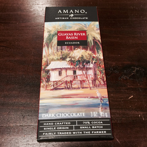 Amano Guayas Premium Dark Chocolate 70%