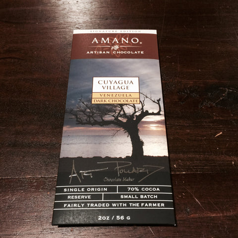 Amano Cuyagua 70% Dark Chocolate Bar