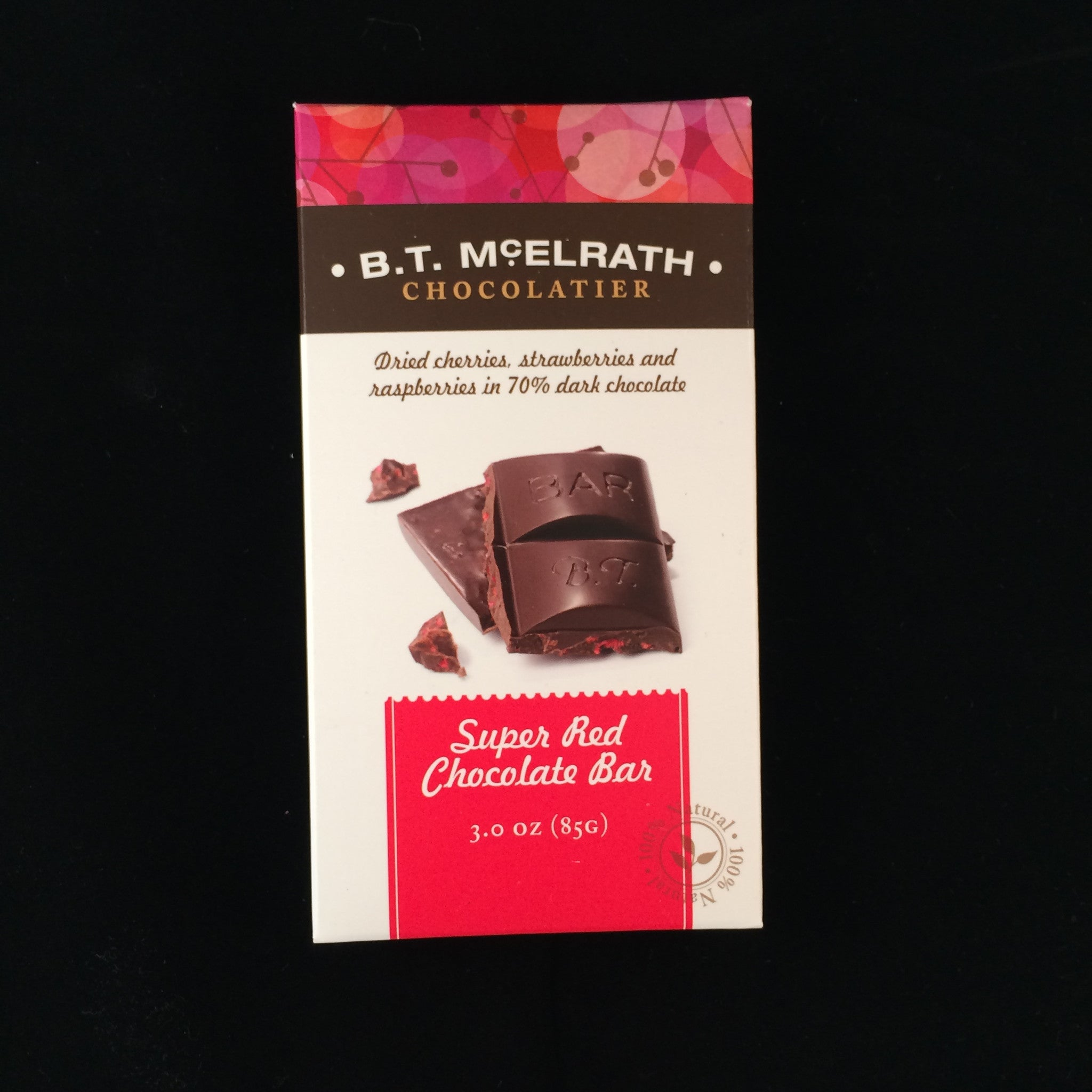 B.T. McElrath Super Red Chocolate Bar
