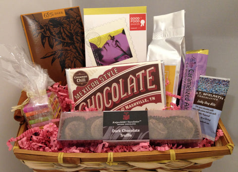 Dark Chocolate Gift Basket: Taster