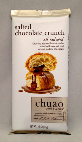 Chuao Salted Chocolate Crunch Bar
