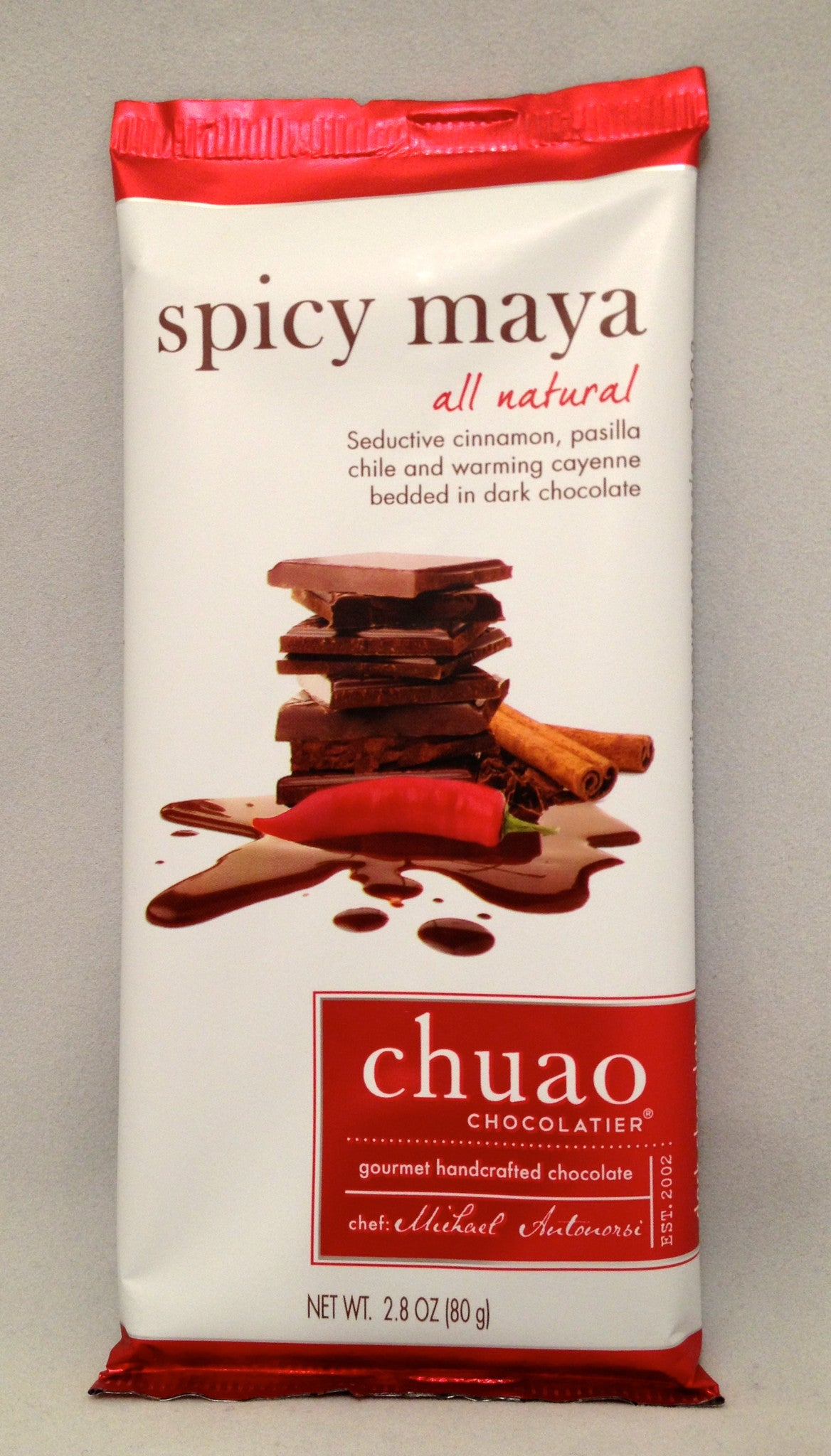 Chuao Spicy Maya Bar