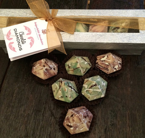 "Knipschildt Chocolatier ""Chocolate Diamonds"" Truffles"