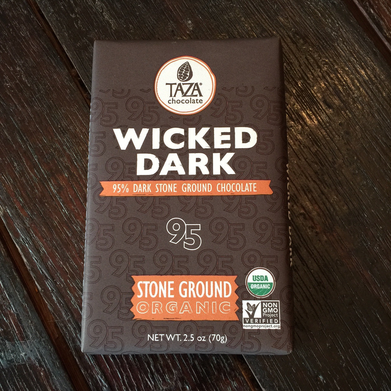 Taza Wicked Dark Amaze Bar
