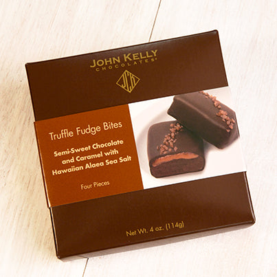 John Kelly Semi-Sweet Chocolate and Caramel with Hawaiian Alaea Sea Salt