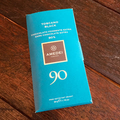 Amedei Toscano Black 90% Dark Chocolate Bar