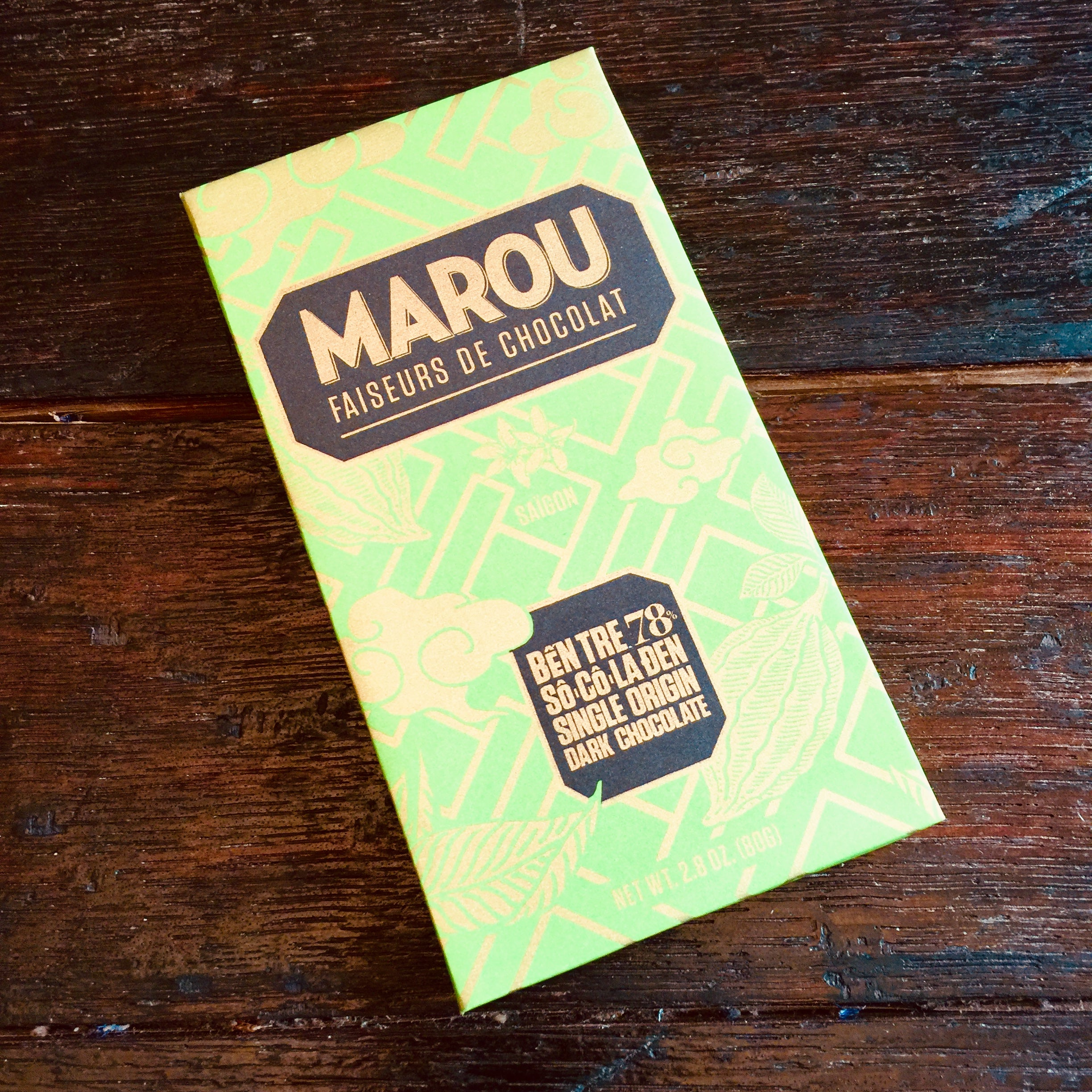 Marou Ben Tre 78% Dark Chocolate Bar