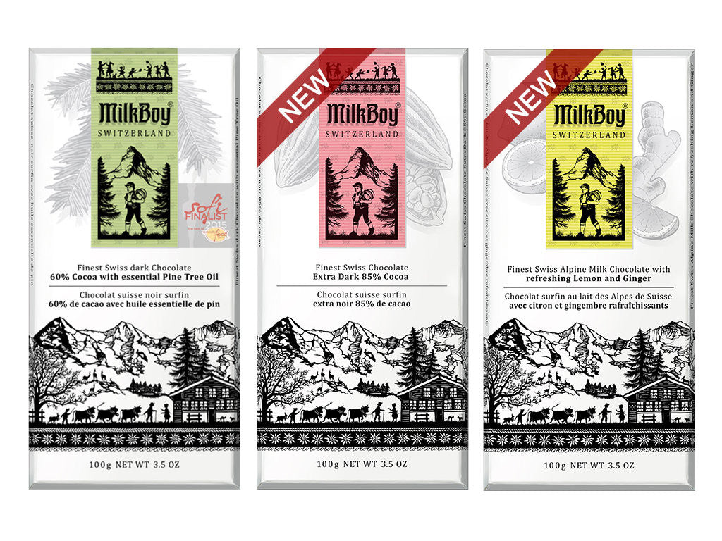 MilkBoy Swiss Chocolate Bar Bundle
