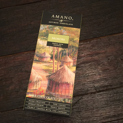 Amano Morobe 70% Single Origin Dark Chocolate Bar