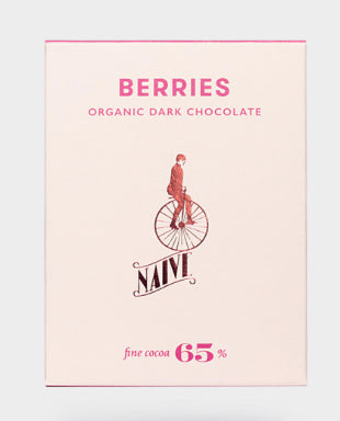 Chocolate Naive Berries 65% Bar