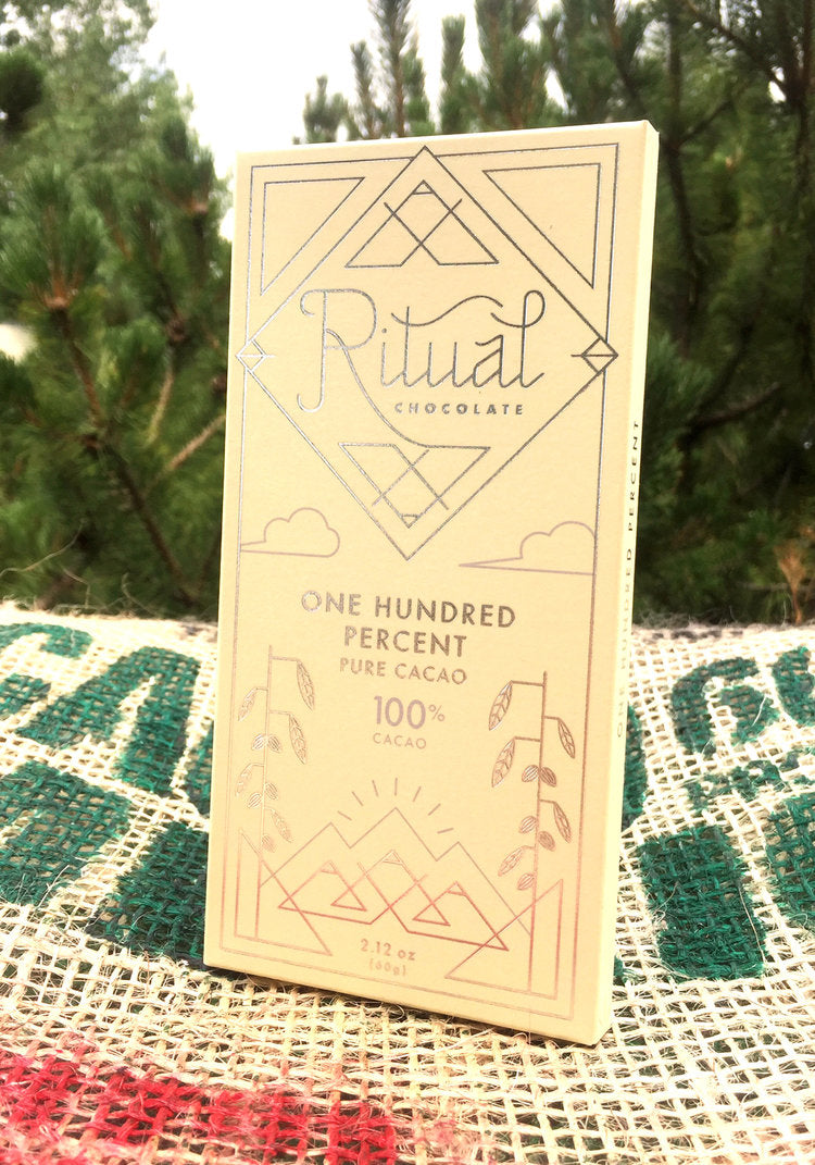Ritual Chocolate 100% Cacao Bar