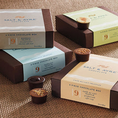 Salt & Ayre Chai Truffles 9 Piece Box