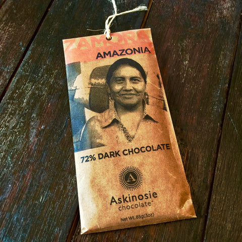 Askinosie Amazonia 72% Amazonia Dark Chocolate Bar