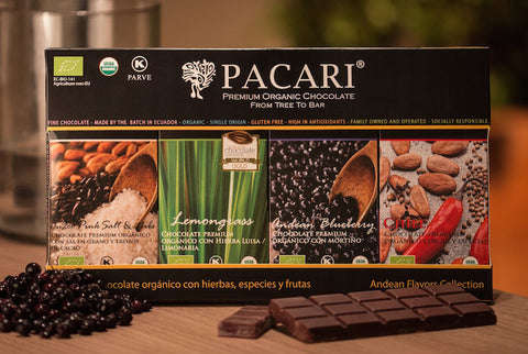 Pacari Andean Flavor Gift Collection