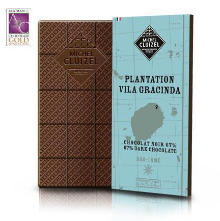 Michel Cluizel Plantation Vila Gracinda Såo Tomé 67% Dark Chocolate Bar