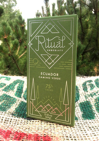 Ritual Chocolate Equador 75% Camino Verde Bar