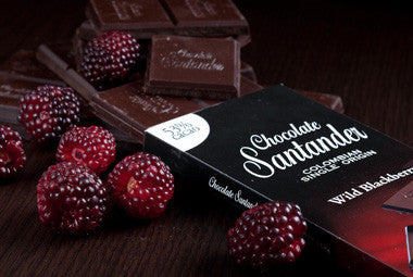 Santander Wild Blackberry 53% Single Origin Bar