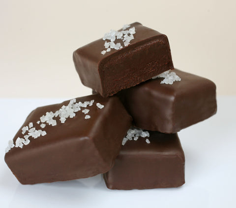 John Kelly Dark Chocolate Truffle Fudge with French Grey Sea Salt