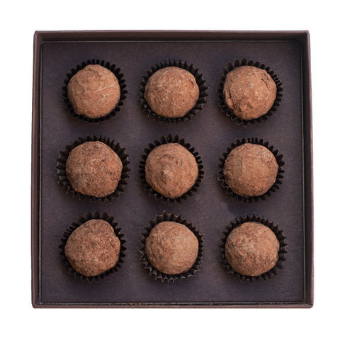 Catskill Provisions Artisanal Handcrafted Chocolate Honey Truffles - 9 pc.