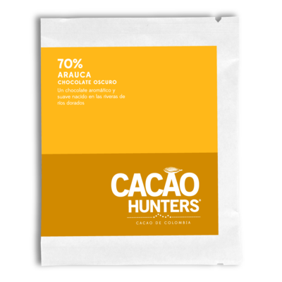 Cacao Hunters 70% Arauca Dark Chocolate Bar