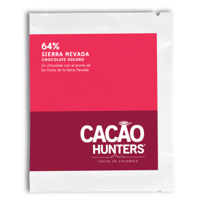 Cacao Hunters 64% Sierra Nevada Dark Chocolate Bar