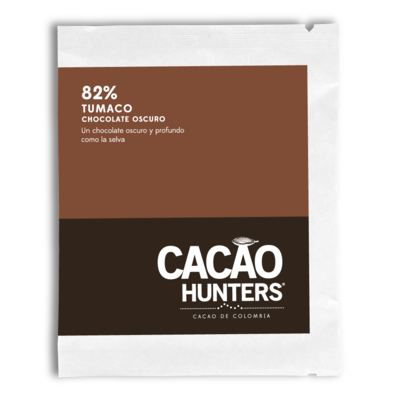 Cacao Hunters 82% Tumaco Dark Chocolate Bar