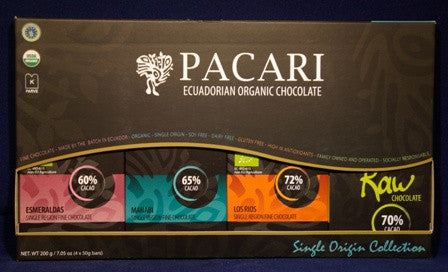 Pacari Single Origin Gift Collection