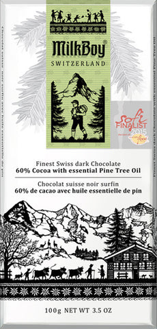 Milk Boy 60% Cocoa With Essential Pine Tree Oil Bar