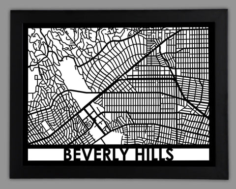 Beverly Hills - Cut Maps