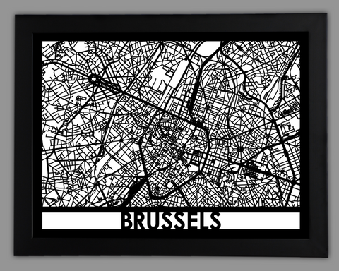 Brussels - Cut Maps
