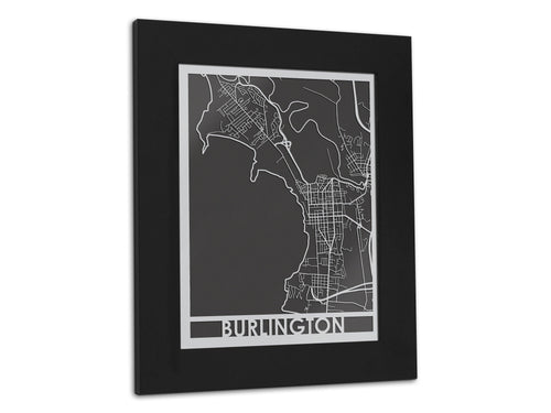 Burlington - Stainless Steel Map - 5