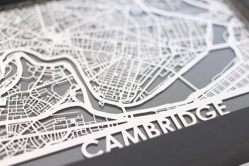 Cambridge - Stainless Steel Map - 5