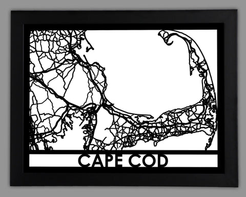 Cape Cod - Cut Maps