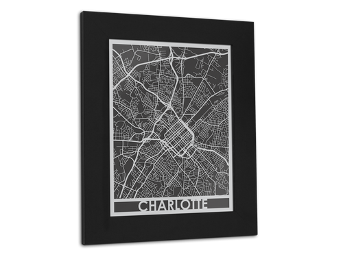 Charlotte - Stainless Steel Map - 11