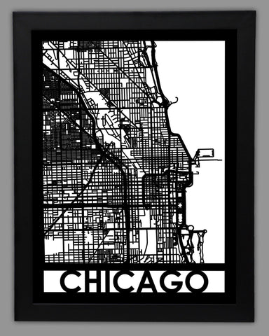 Chicago - Cut Maps