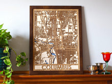 "Load image into Gallery viewer, 18""x24"" Columbus 3 Layer Map"