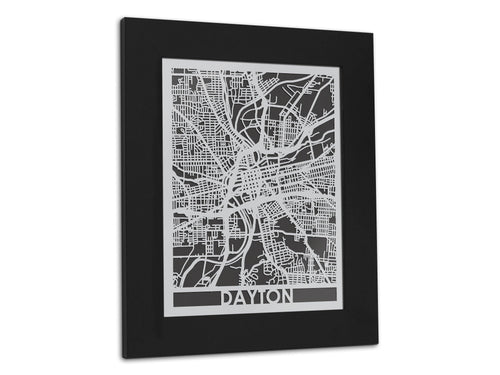 Dayton - Stainless Steel Map - 5