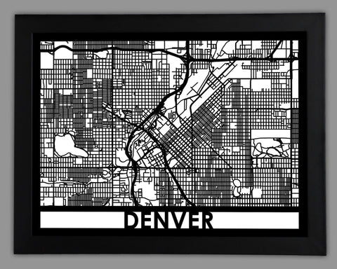 Denver - Cut Maps