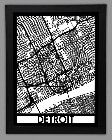 Detroit - Cut Maps - 1