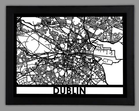 Dublin - Cut Maps