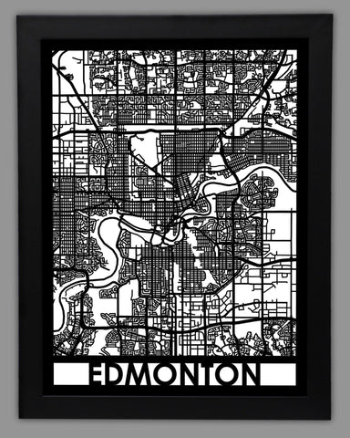 Edmonton - Cut Maps