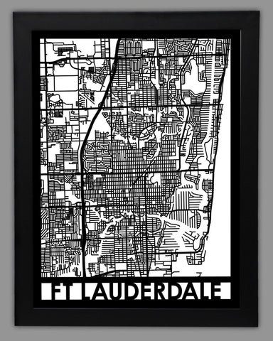 Fort Lauderdale - Cut Maps