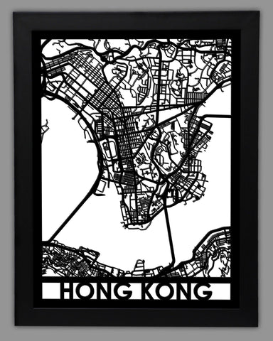 Hong Kong - Cut Maps