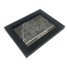 "Load image into Gallery viewer, Jackson - Stainless Steel Map - 5""x7"""