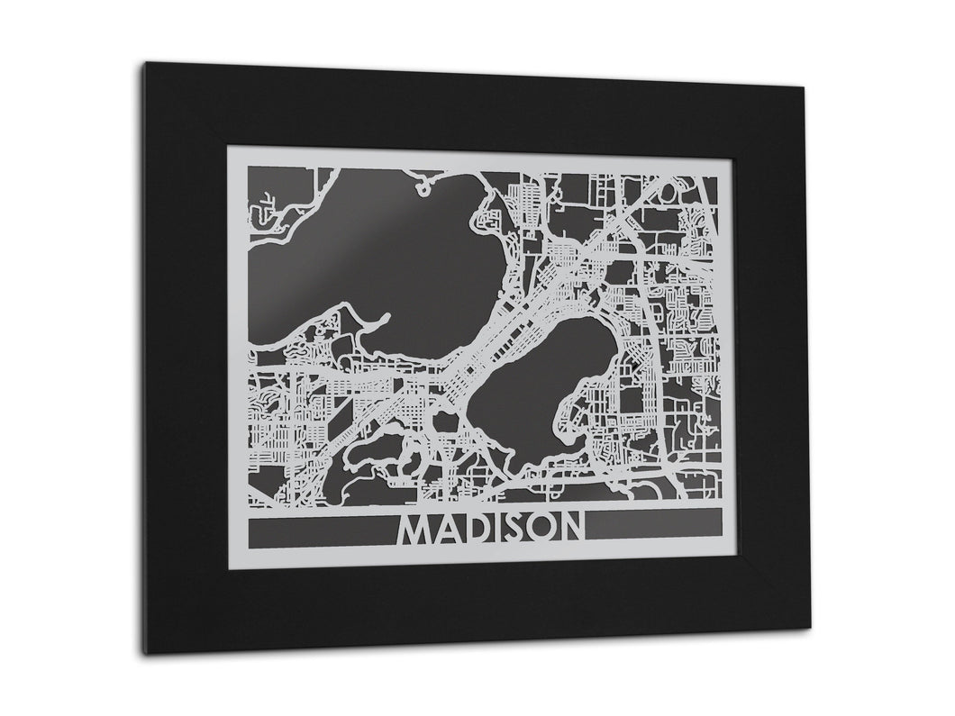 Madison - Stainless Steel Map - 5