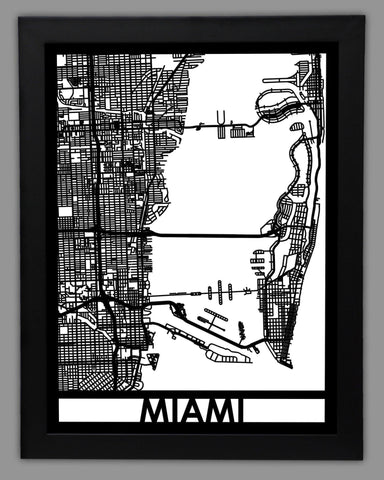 Miami - Cut Maps