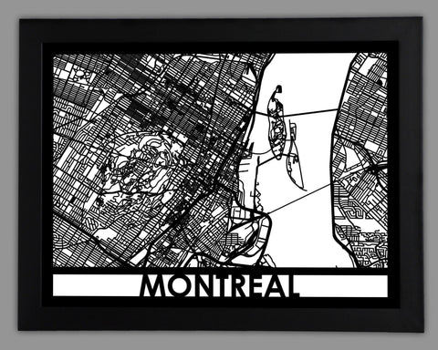 Montreal - Cut Maps