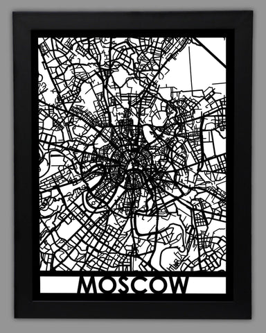 Moscow - Cut Maps